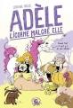 Couverture Adèle : Licorne malgré elle Editions Poulpe fictions 2018