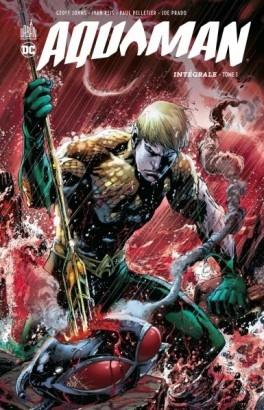 Couverture Aquaman, intégrale, tome 1