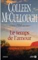 Couverture Le Temps de l'amour Editions Presses de la cité 2004