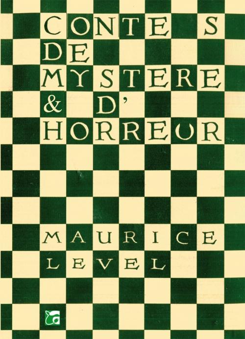 Couverture Contes de mystère & d'horreur