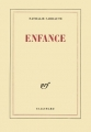 Couverture Enfance Editions Gallimard  (Blanche) 1983