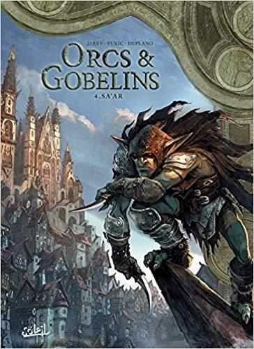 Couverture Orcs & Gobelins, tome 4 : Sa'ar