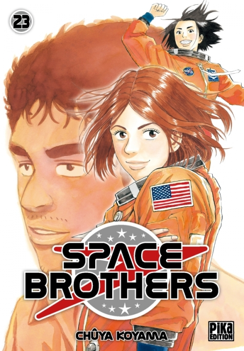 Couverture Space brothers, tome 23