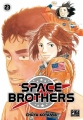 Couverture Space brothers, tome 23 Editions Pika (Seinen) 2018