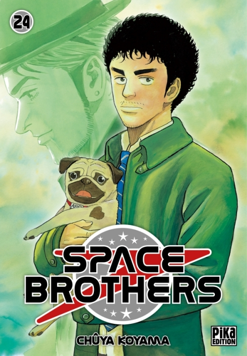Couverture Space brothers, tome 24