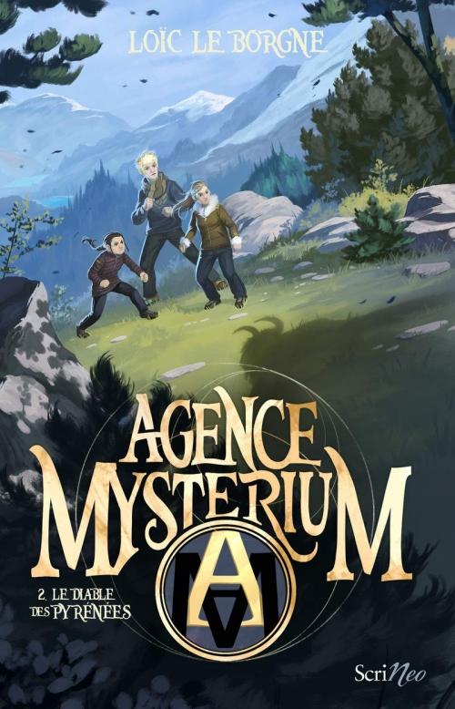 Couverture Agence Mysterium, tome 2 : Le diable des Pyrénées