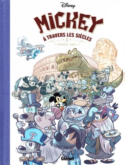 Couverture Mickey à travers les siècles