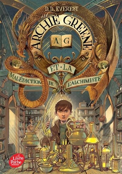Couverture Archie Greene, tome 2 : Archie Greene et la malediction de l'alchimiste