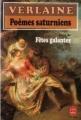 Couverture Poèmes saturniens Editions Le Livre de Poche 1987