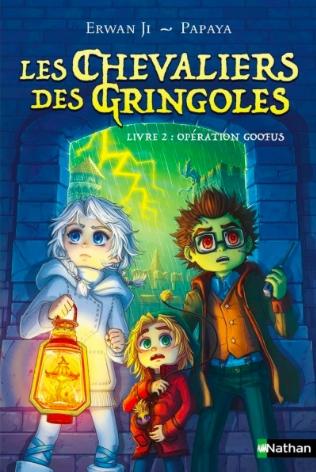 Couverture Les chevaliers des gringoles, tome 2 : Opération Goofus