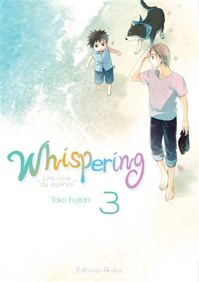 Couverture Whispering : Les voix du silence, tome 3