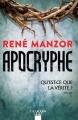 Couverture Apocryphe Editions Calmann-Lévy (Noir) 2018
