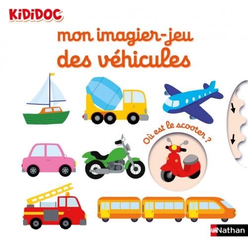 Couverture Mon imagier-jeu des véhicules