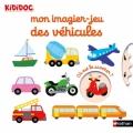 Couverture Mon imagier-jeu des véhicules Editions Nathan 2018