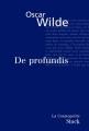 Couverture De Profundis Editions Stock (La Cosmopolite) 2005