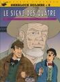 Couverture Sherlock Holmes (B.Détectives), tome 9 : Le signe des quatre Editions Lefrancq 1998