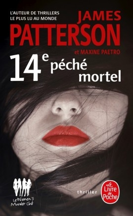 Couverture Le women murder club, tome 14 : 14e péché mortel