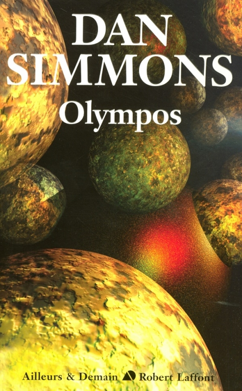 Couverture Ilium, tome 2 : Olympos