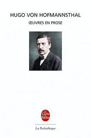Couverture Oeuvres en prose