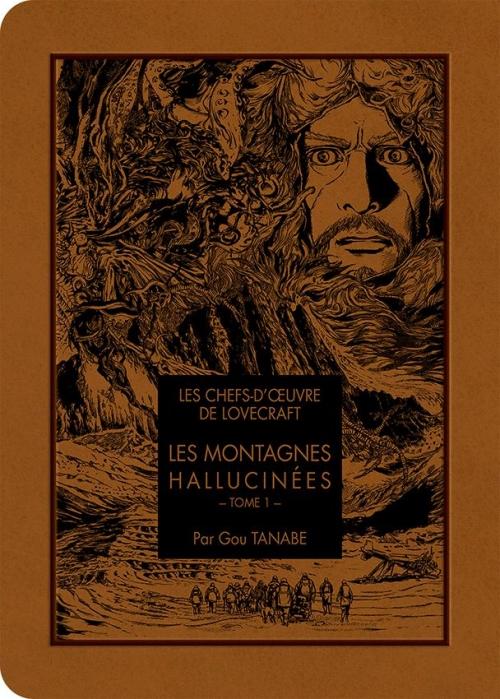 Couverture Les montagnes hallucinées (manga), tome 1