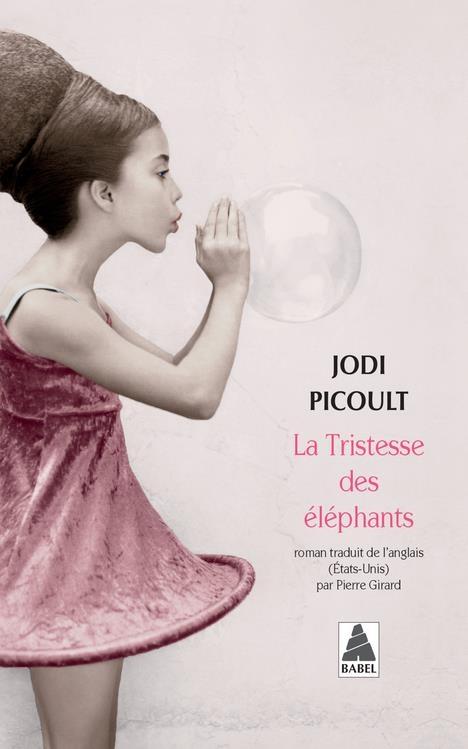 Couverture La tristesse des éléphants