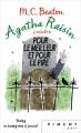 Couverture Agatha Raisin enquête, tome 05 : Pour le meilleur et pour le pire Editions France Loisirs (Piment - Noir) 2018