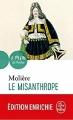 Couverture Le misanthrope / Le misanthrope ou l'atrabilaire amoureux Editions Le Livre de Poche (Le Théâtre de Poche) 2017