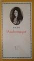 Couverture Andromaque Editions Hachette (Classiques illustrés) 1974