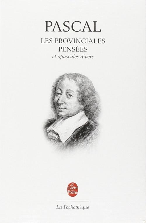 Couverture Les Provinciales, Pensées et opuscules philosophiques
