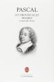 Couverture Les Provinciales, Pensées et opuscules philosophiques Editions Le Livre de Poche (La pochothèque) 2004