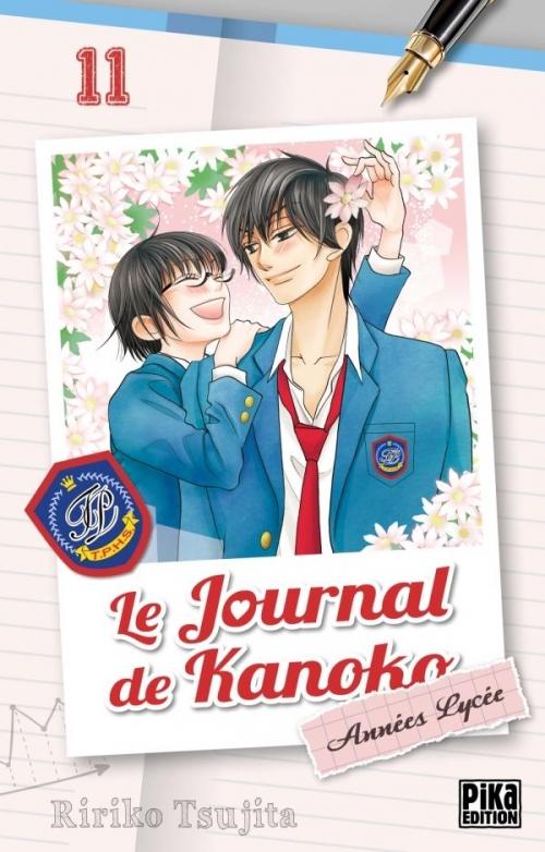 Couverture Le journal de Kanoko : Années lycées, tome 11