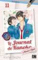 Couverture Le journal de Kanoko : Années lycées, tome 11 Editions Pika (Shôjo) 2018