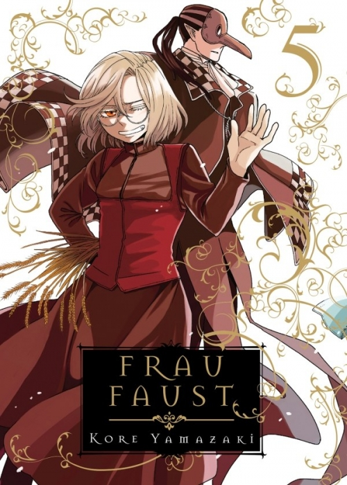 Couverture Frau Faust, tome 5