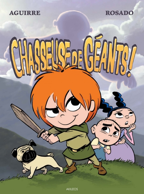 Couverture Les chroniques de Claudette, tome 1 : Chasseuse de géants !