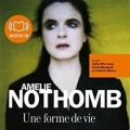 Couverture Une forme de vie Editions Audiolib 2010