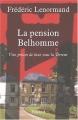 Couverture La pension Belhomme : Une prison de luxe sous la terreur Editions Fayard 2002