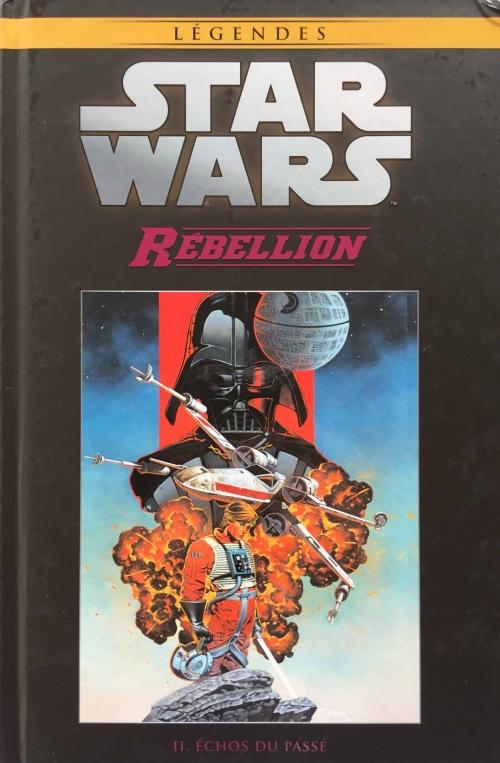 Couverture Star Wars (Légendes) : Rébellion, tome 2 : Echos du passé