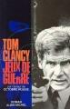 Couverture Jeux de guerre Editions Albin Michel 1992
