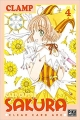 Couverture Card Captor Sakura : Clear Card Arc, tome 4 Editions Pika (Shôjo) 2018