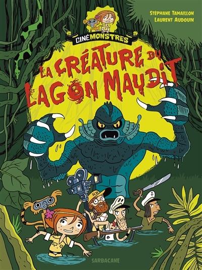 Couverture Cinémonstres, tome 1 : L'abominable Docteur Mouche