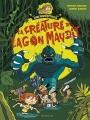 Couverture Cinémonstres, tome 1 : L'abominable Docteur Mouche Editions Sarbacane 2016