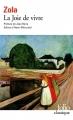 Couverture La joie de vivre Editions Folio  2008