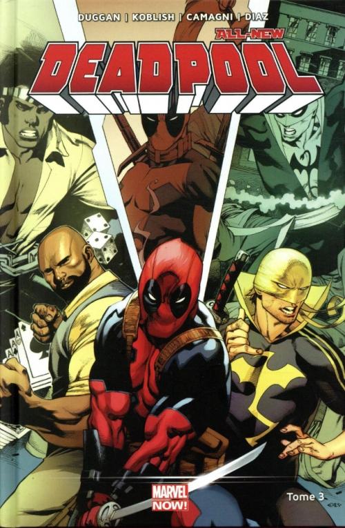 Couverture All-New Deadpool, tome 3 : Décharge éclectique