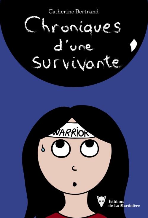 Couverture Chroniques d'une survivante