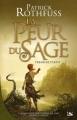 Couverture Chronique du tueur de roi, tome 2 : La peur du sage, partie 1 Editions Bragelonne (Collector) 2012