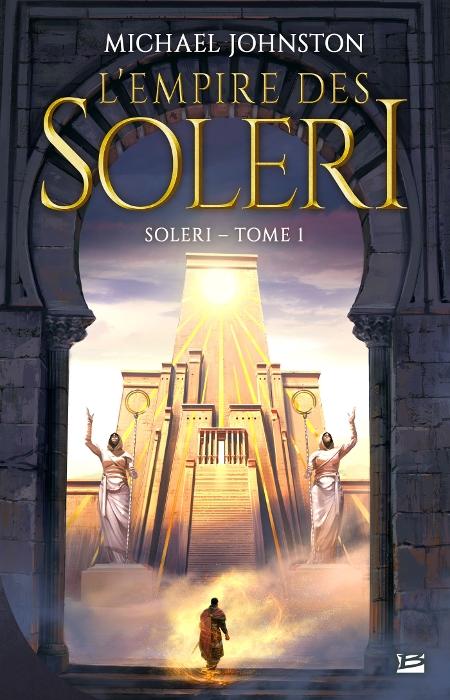 Couverture Soleri, tome 1 : L'Empire des Soleri