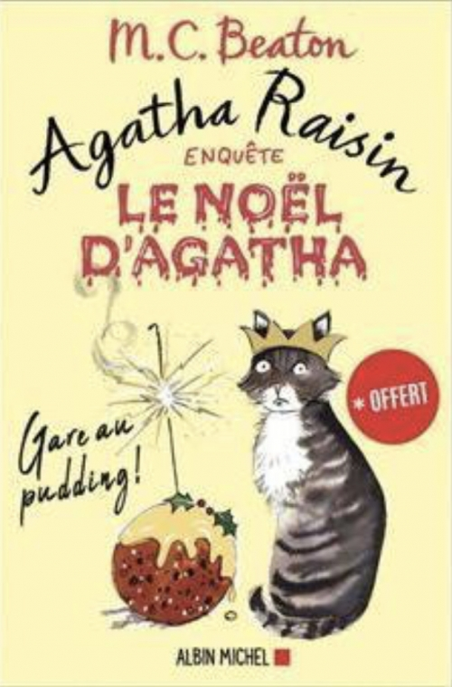 Couverture Agatha Raisin, tome hs : Le Noël d'Agatha