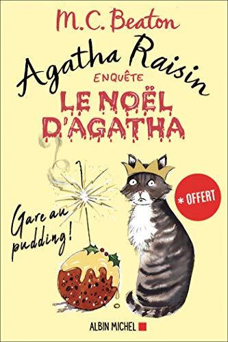 Couverture Agatha Raisin enquête, tome hs : Le Noël d'Agatha