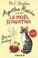 Couverture Agatha Raisin, tome hs : Le Noël d'Agatha Editions Albin Michel 2018