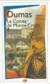 Couverture Le comte de Monte-Cristo (2 tomes), tome 2 Editions Flammarion (GF) 1998
